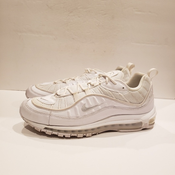 7416fdefe9 Nike Shoes | 640744106 White Sneakers Air Max 98 | Poshmark